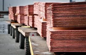 COPPER PRICES RISE BY 45 P.C