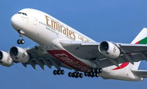 EMIRATES BACK IN LUSAKA ROUTE SKIES